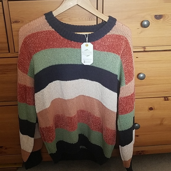 Love Riche Sweaters - Color block sweater